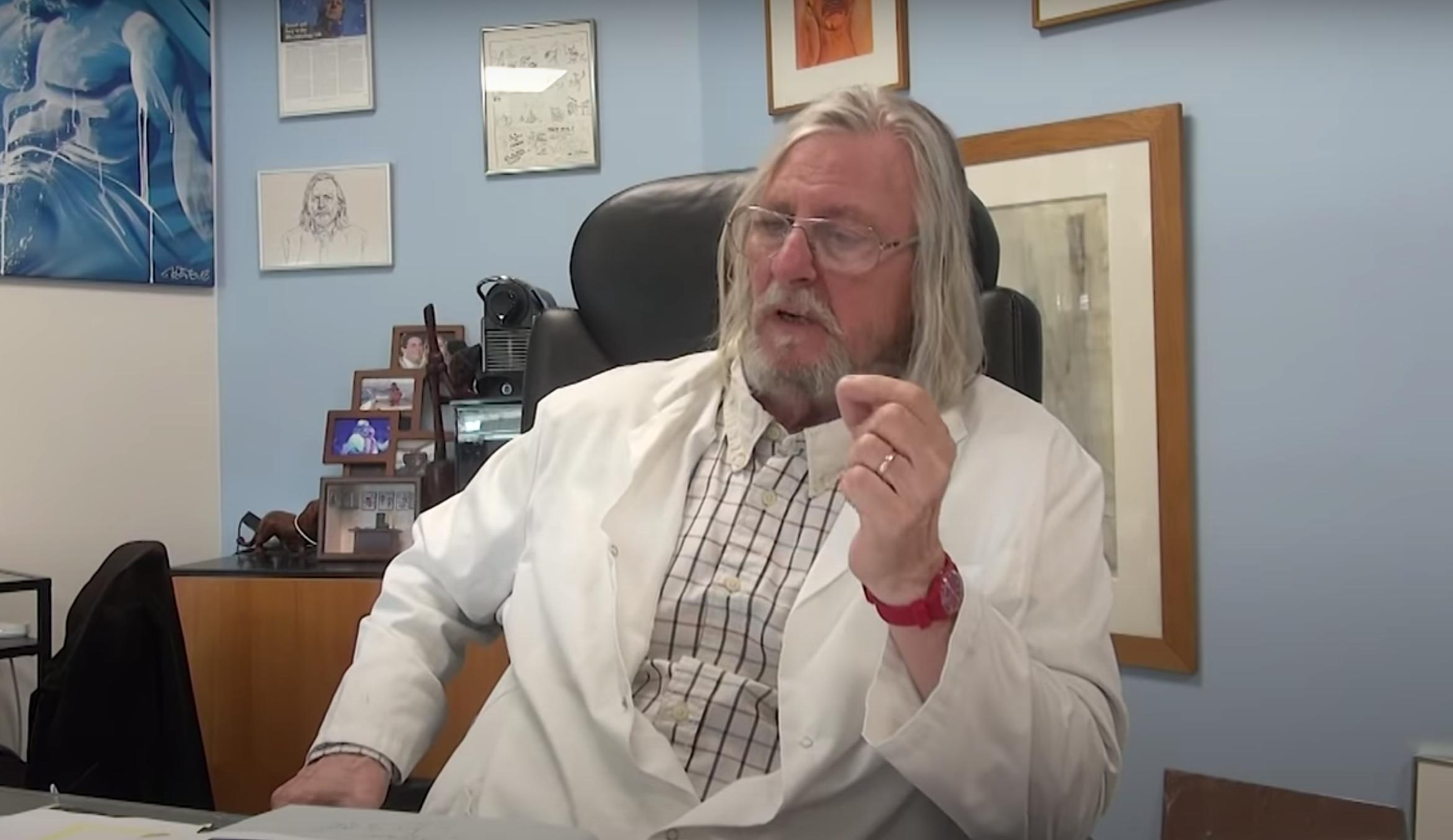"""""""L'épidémie est en train de se terminer"""" — Professeur Didier Raoult"""