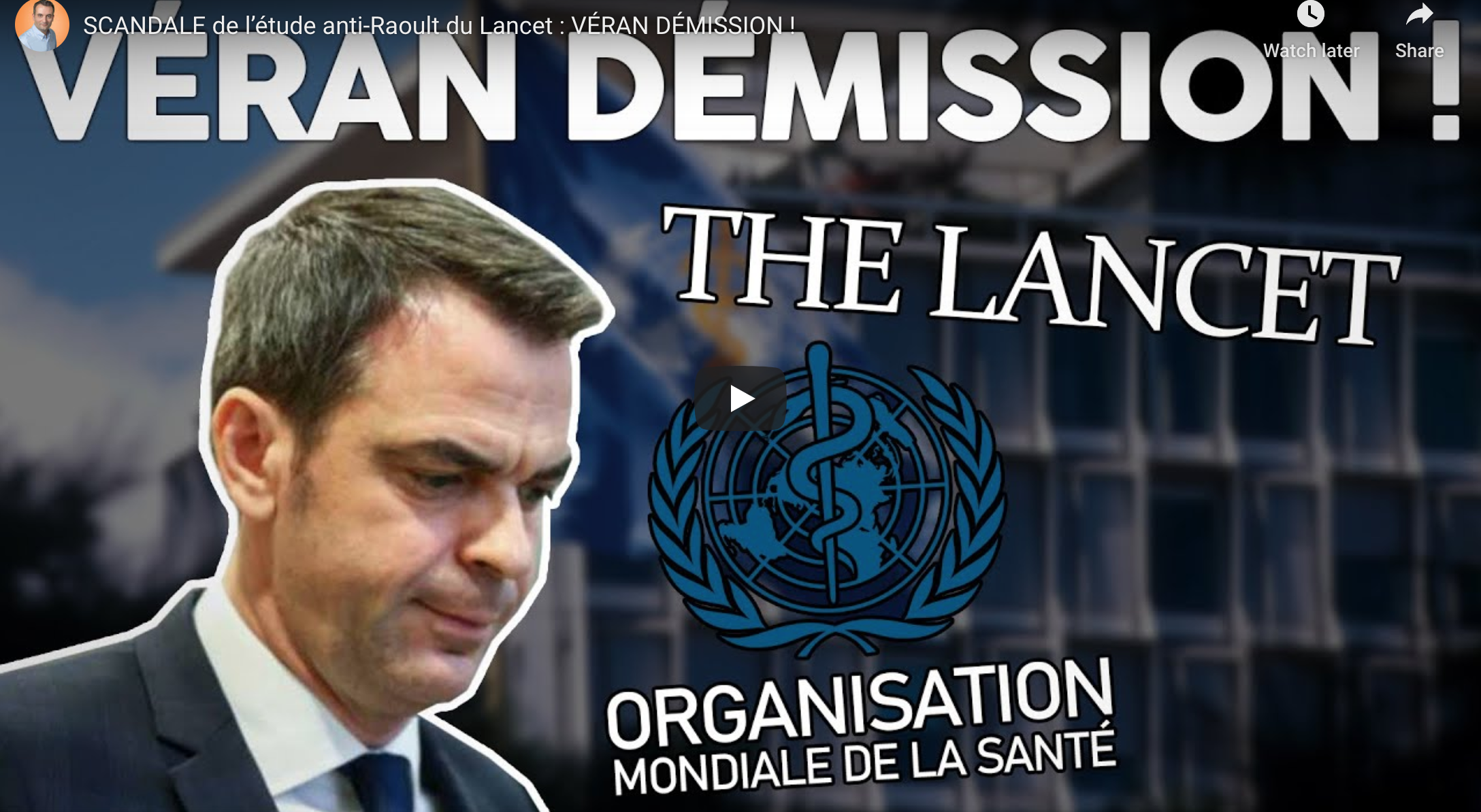 France: Call for Resignation of Health Minister and Funding Withdrawal from WHO