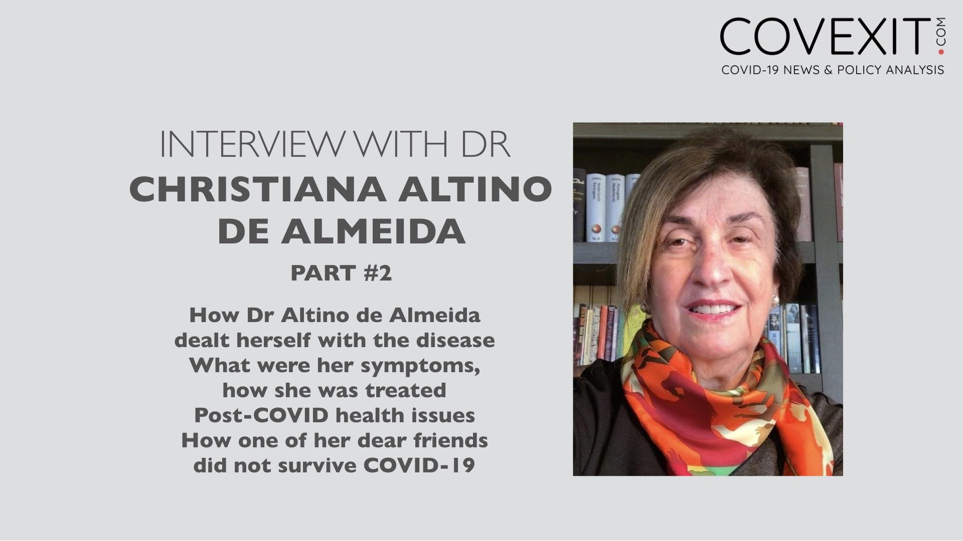 Interview with Dr Altino de Almeida - Part 2
