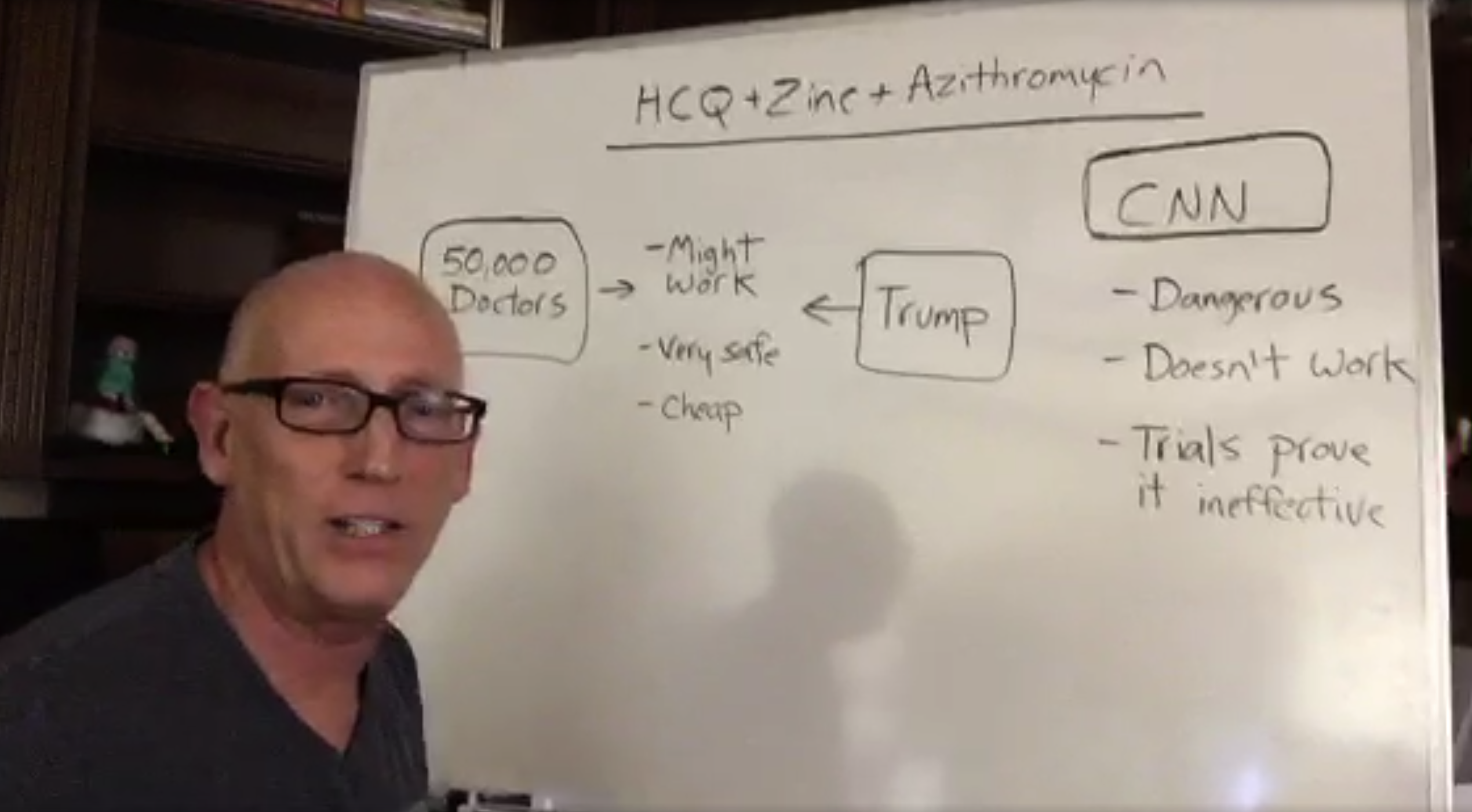Dilbert's Scott Adams Questions CNN's Role in the Pandemic