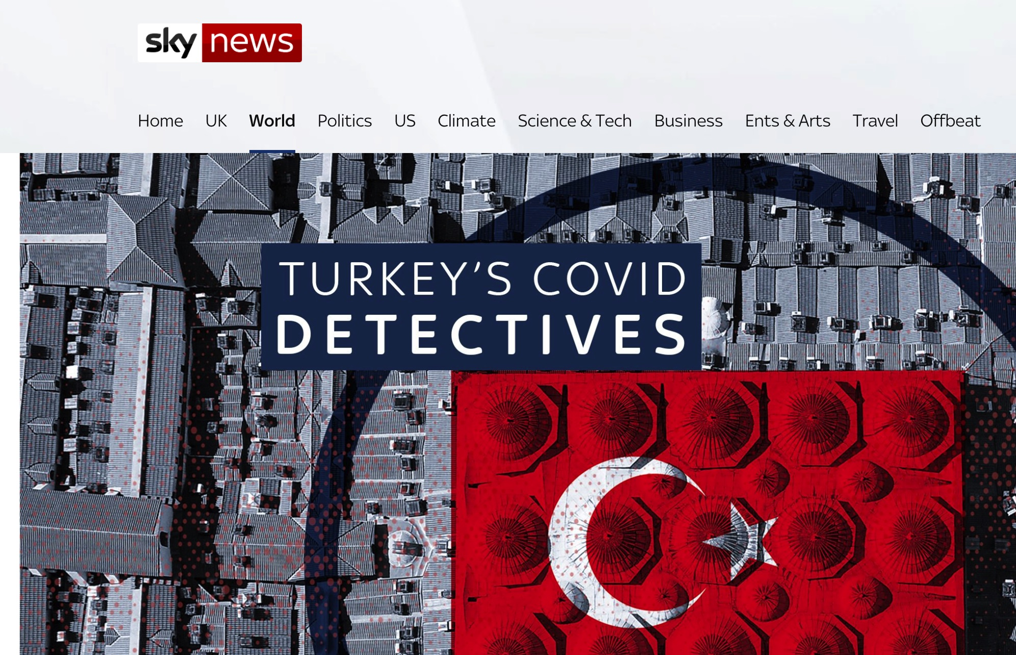 Turkey's COVID-19 Early Hydroxychloroquine Treatment Strategy Featured by Sky News