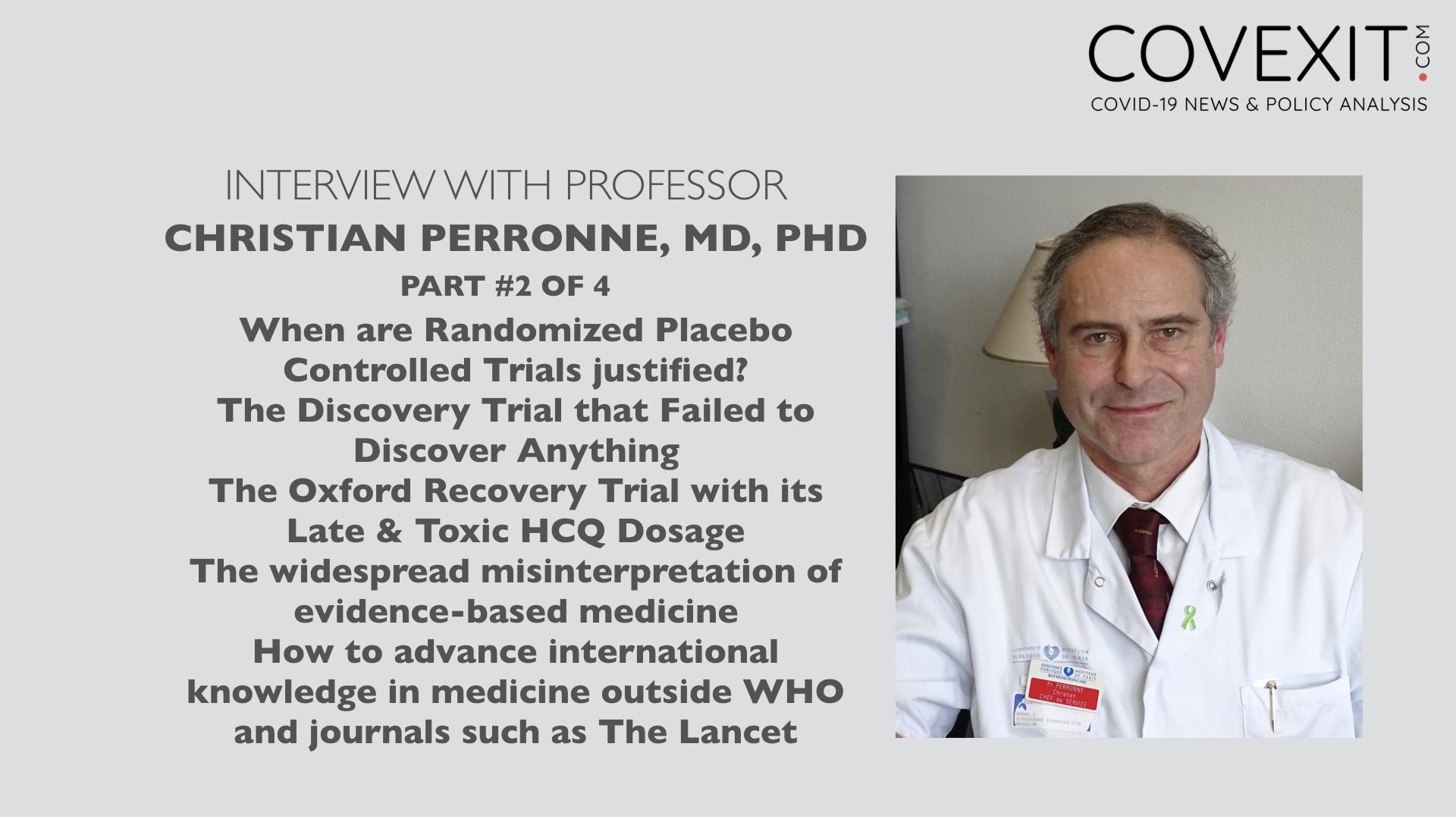 Professor Christian Perronne Interview – Part 2