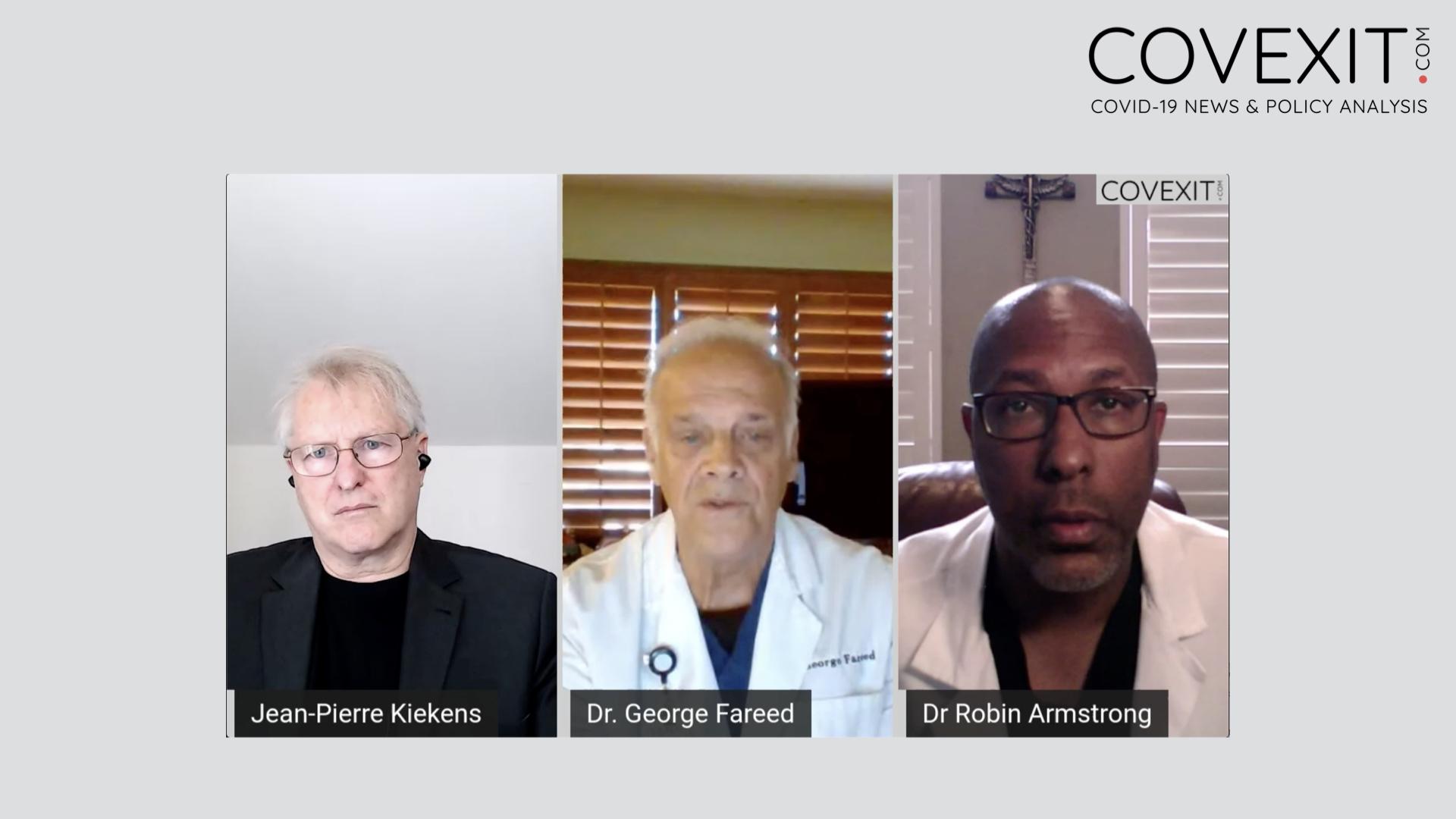 Prophylaxie et traitement précoce dans les résidences pour aînés - un webinaire avec le Dr Robin Armstrong et le Dr George Fareed