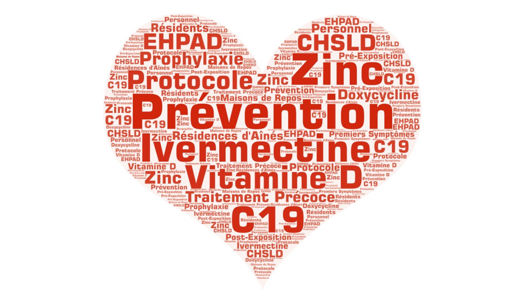 Un protocole pour la prévention et le traitement précoce du C19 dans les résidences pour aînés