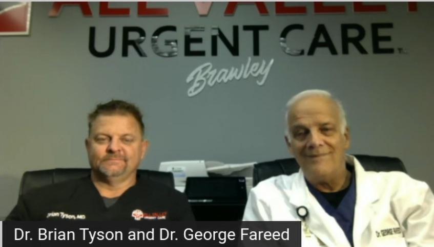 Webinaire avec le Dr Brian Tyson et le Dr George Fareed - Partie 1
