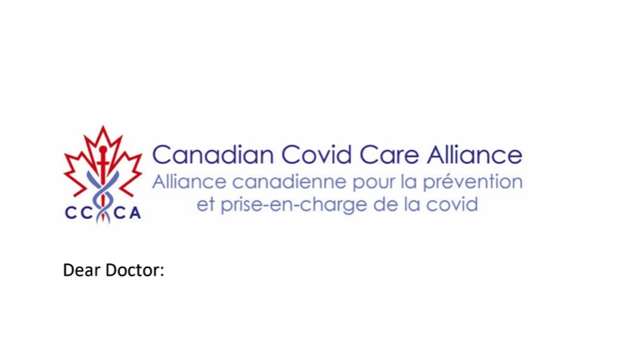 Canadian Group Calls for Off-Label Use of Early Treatment Drugs with Informed Consent