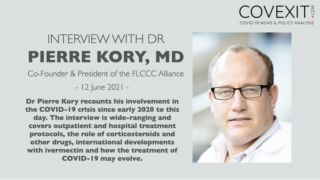 The Dr Pierre Kory Interview