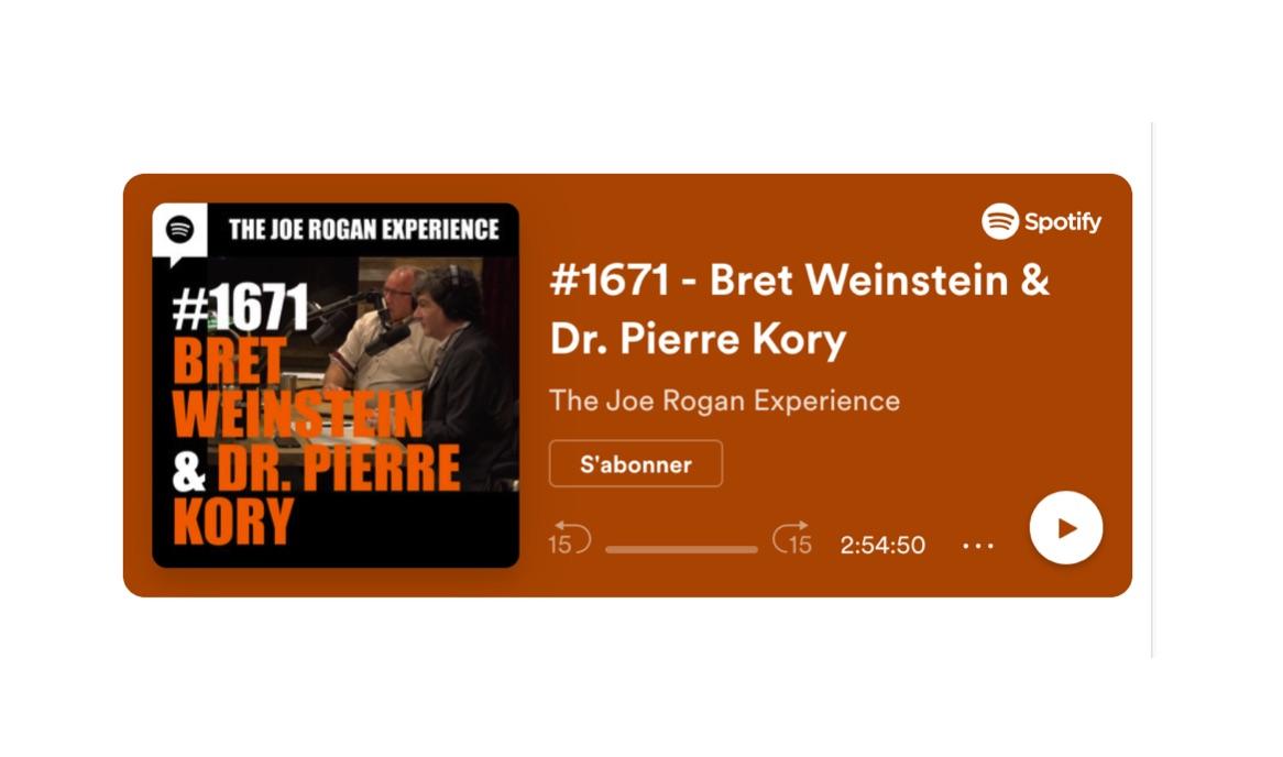 Dr Kory, Bret Weinstein Make it on the Joe Rogan Podcast!