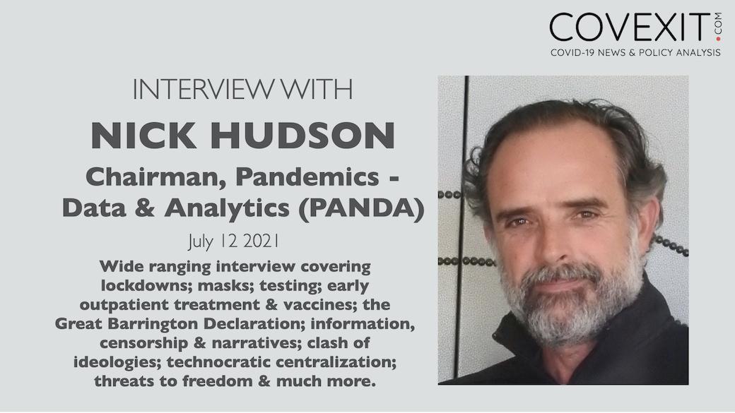 Interview with Nick Hudson from Pandemics Data & Analytics (PANDA)