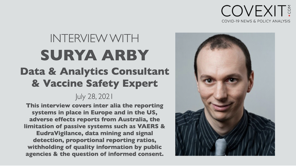 Interview of Surya Arby