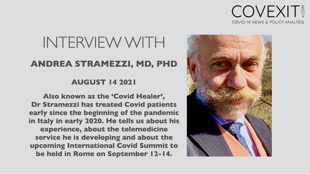 Interview of Dr Andrea Stramezzi, aka The COVID Healer