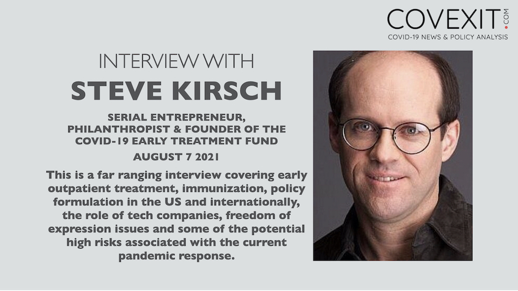 The Steve Kirsch Interview