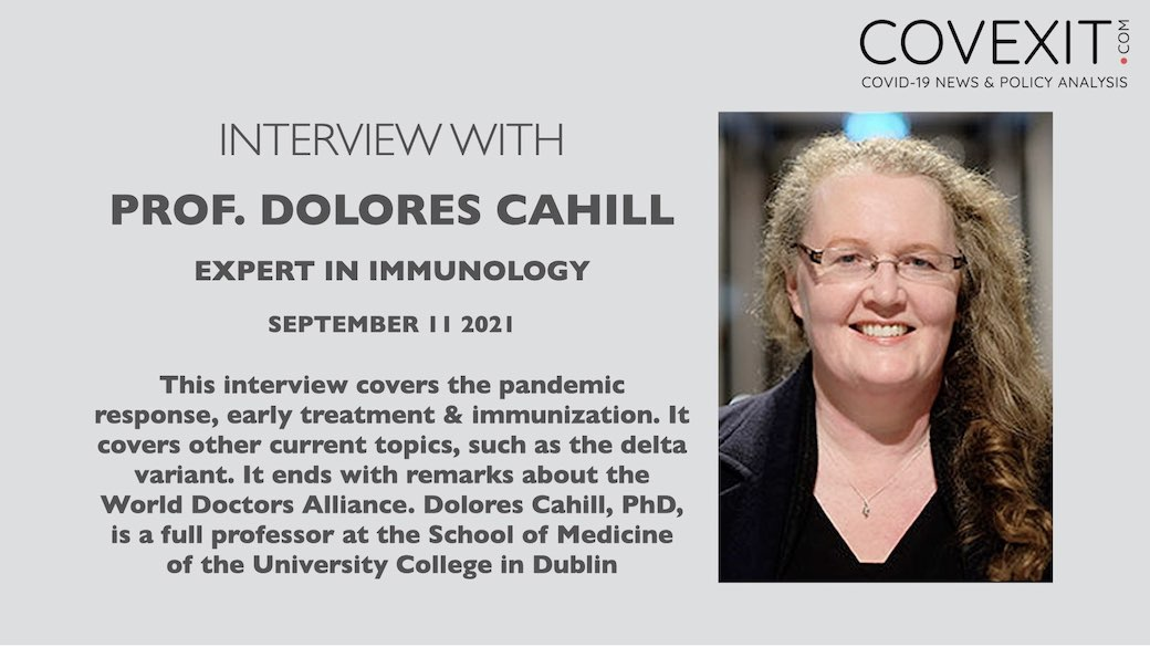 An Interview with World Renowned Immunology Expert Professor Dolores Cahill